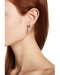 Argento Vivo - Metallic Sterling Silver Geo Earrings - Lyst