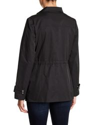 Marc New York - Black Tanner Tech Rain Coat - Lyst