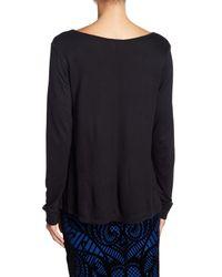 Jack BB Dakota - Black Hurst Long Sleeve Deep V-neck Sweater - Lyst