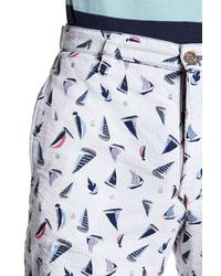 Tailor Vintage - Blue Reversible Walking Short for Men - Lyst