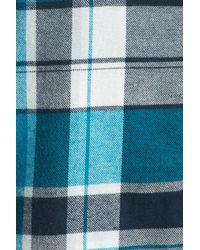 Make + Model - Blue Flannel Nightshirt - Lyst