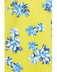Draper James - Yellow Hillsboro Summerall Floral Print Knit Dress - Lyst