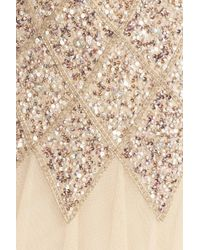 JS Collections - Multicolor Embellished Tulle Gown - Lyst