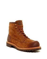 Frye | Brown Dakota Mid Lace Boot for Men | Lyst