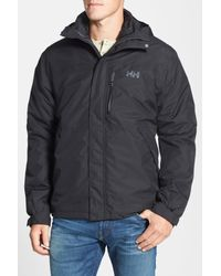 Helly Hansen - Black Squamish 3-in-1 Water-repellent Hooded Jacket for Men - Lyst