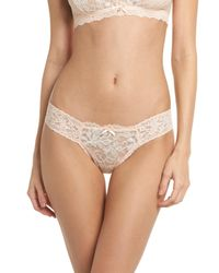 Hanky Panky Multicolor Alexia Lace Thong