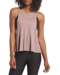 Alo Yoga - Pink Flow Thermal Tank - Lyst