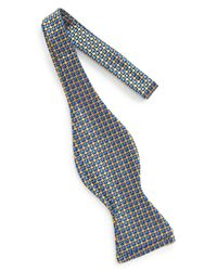 John W. Nordstrom - Yellow (r) Geometric Silk Bow Tie for Men - Lyst