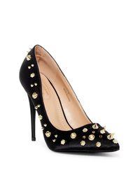 Elegant Footwear - Black Nala Pointed Toe Pump - Lyst