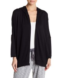 N Natori - Black Everywhere Jacket - Lyst