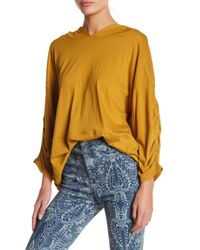 Free People - Multicolor Movement Horizon Hooded Tee - Lyst
