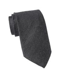John Varvatos - Black Classic Neck Tie for Men - Lyst