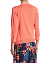 Tommy Bahama - Multicolor Front Button Cardigan - Lyst