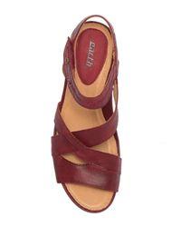 Earth - Multicolor Thistle Wedge Sandal - Lyst