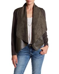 Kut From The Kloth - Black Faux Leather Jacket - Lyst