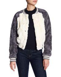 Jack BB Dakota | White Aisen Fleece Jacket | Lyst