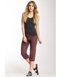 Alternative Apparel | Multicolor Crop Drawstring Pant | Lyst