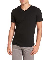 Lacoste - Black Pima Cotton T-shirt for Men - Lyst