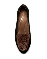 Aerosoles - Brown Lovely Wedge Flat - Lyst
