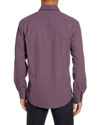 RODD AND GUNN - Purple Ingleton Regular Fit Dot Sport Shirt for Men - Lyst