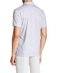 Nike - Gray Fly Modern Fit Stripe Polo for Men - Lyst