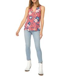 Sanctuary - Multicolor Beverly Floral Sleeveless Top - Lyst