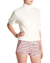 Six Crisp Days - White Short Sleeve Sweater - Lyst