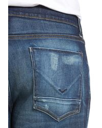 Hudson - Blue Blake Slim Fit Jeans for Men - Lyst