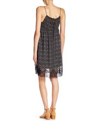William Rast - Black Canyon Babydoll Slip Dress - Lyst