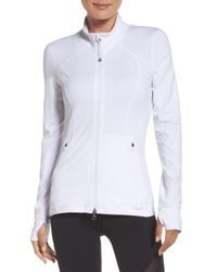 Zella - White Presence Training Jacket - Lyst