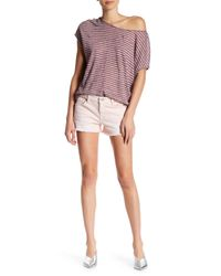 7 For All Mankind - Multicolor 7 For All Mankind Cutoff Denim Shorts - Lyst