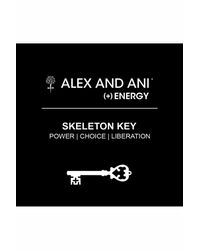 ALEX AND ANI - Multicolor Skeleton Key Expandable Wire Bangle - Lyst