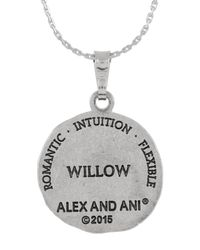 ALEX AND ANI | Metallic Rulers Of The Woods Hazel Expandable Necklace | Lyst