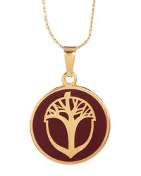 ALEX AND ANI - Metallic Unexpected Miracles Pendant Necklace - Lyst