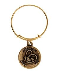 ALEX AND ANI - Metallic Love Ii Expandable Wire Ring - Lyst