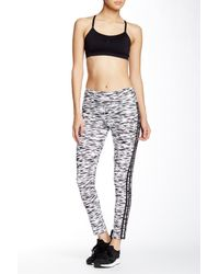 Adidas Originals - White Essentials Printed Tights - Lyst