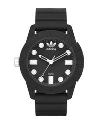 Adidas Originals | Black Unisex 1969 Silicone Watch for Men | Lyst