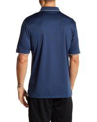 Adidas Originals - Blue Regular Fit Climalite Polo for Men - Lyst
