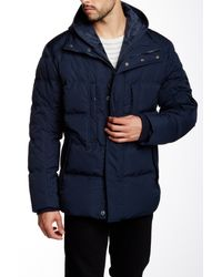 Andrew Marc | Blue Aberdeen Down Jacket for Men | Lyst