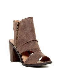 Rebels - Brown Angie Cutout Bootie - Lyst