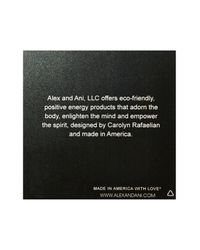 ALEX AND ANI - Metallic New York Giants Logo Charm Expandable Wire Bangle - Lyst