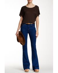 7 For All Mankind - Blue Tailorless Ginger Jean - Lyst