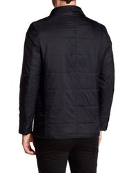 Bugatchi - Black Removable Placket Jacket for Men - Lyst