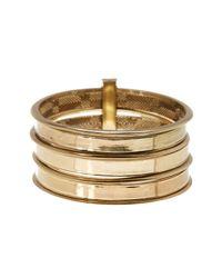 House of Harlow 1960 | Metallic The Titaness Bangle Bracelet | Lyst
