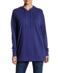 Volcom   Blue Lived In Long Pullover Hoodie   Lyst