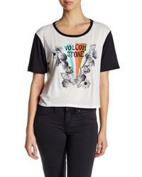 Volcom | Multicolor Far Out Block It Tee | Lyst
