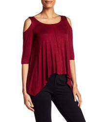 Bailey 44 - Red Cold Shoulder Shirt - Lyst
