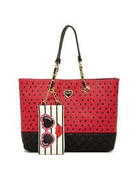 Betsey Johnson | Scattered 3d Bow Tote | Lyst