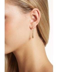 Botkier - Natural Long Paper Clip Earrings - Lyst