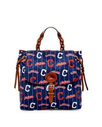Dooney & Bourke | Blue Indians Nylon Flap Backpack | Lyst